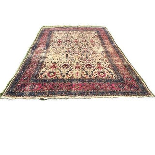 Antique Hand Knotted Persian Rug - 9′11″ × 14′9″