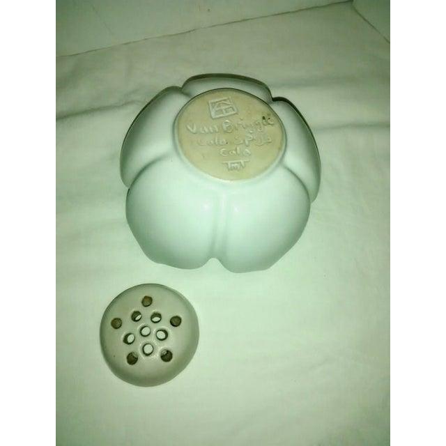 Vintage Van Briggle White Lotus Vase - Image 6 of 7