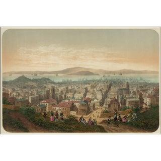 Vue De San Francisco Print, 1800's San Francisco