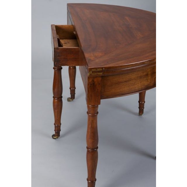 19th Century French Walnut Flip Top Game Table - Image 5 of 7