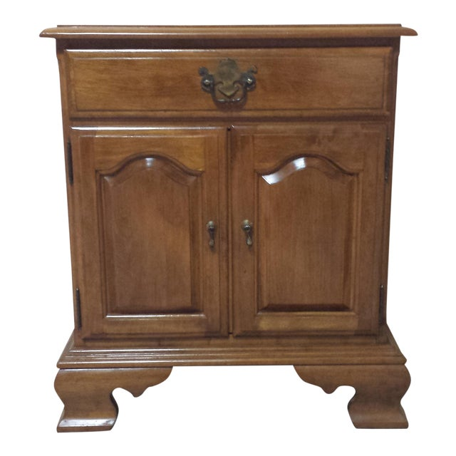 Ethan Allen Traditional Style Nightstand - Image 1 of 9