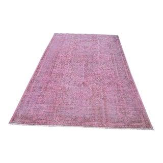 Handmade Turkish Floor Rug - 5′7″ × 8′7″