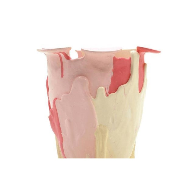 Image of Rare, Limited Edition Pink Amazonia Vase by Gaetano Pesce, Fish Design