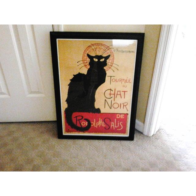 """""""Tournee Du Chat Noir"""", Framed Poster - Image 2 of 6"""