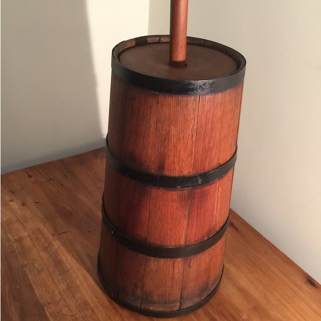 Antique Wooden Butter Churn - Image 9 of 11