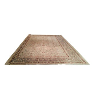 Traditional Hand Knotted Rug - 13′ X 17′10″