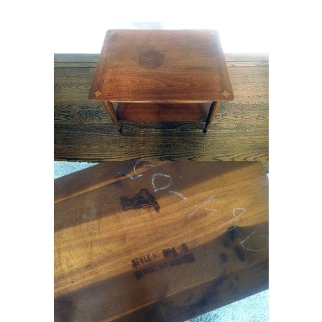 Mid Century Wood Coffee Table - Lane - Image 4 of 6