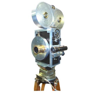 Wilart, 35mm Cinema Camera, One Off Factory Prototype, Circa 1919. Display As Sculpture.