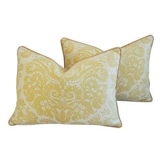 Mariano Fortuny Italian Demedici Pillows- A Pair