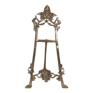 Victorian Decorative Brass Easel