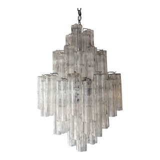 Tronchi Glass Chandelier by Venini for Murano