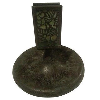 Art Deco Bronze Tiffany Studios Match Holder