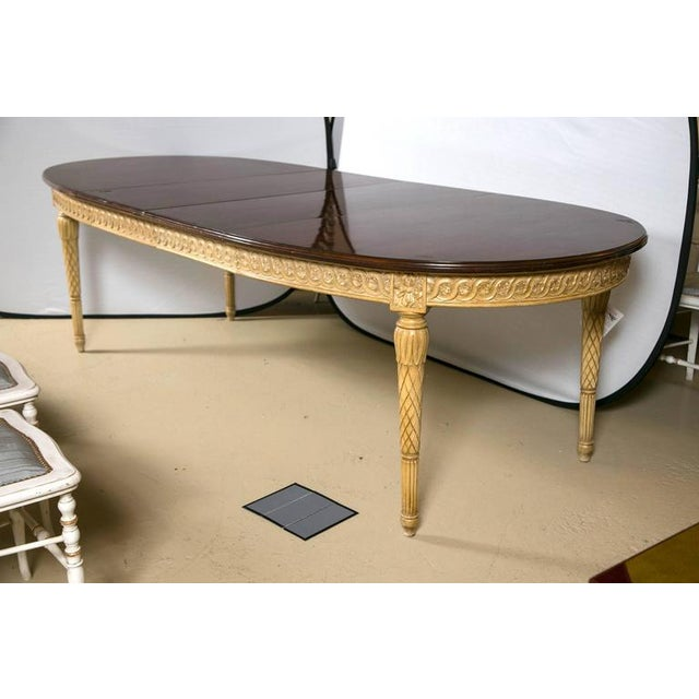 Louis XVI Style Dining Table, Manner of Jansen - Image 3 of 10