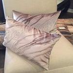 Image of Velvet Kidney Pillows by Aviva Standoff - a Pair