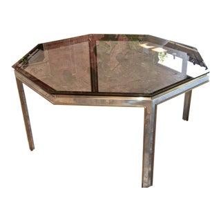 Italian 70's Octagonal Table