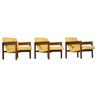 Set of Three Hein Stolle Chairs in Wenge