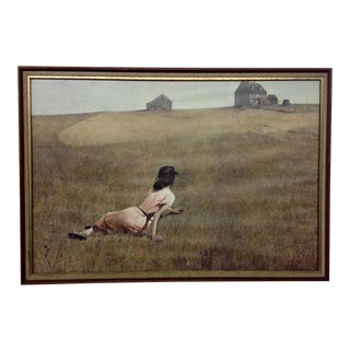 Mid-Century Andrew Wyethe Lithograph