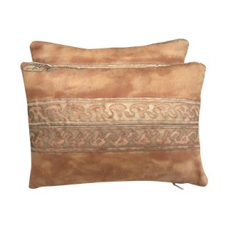 Custom Fortuny Pillows - A Pair