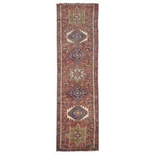 Vintage Handmade Persian Karaje Rug - 3'x13''