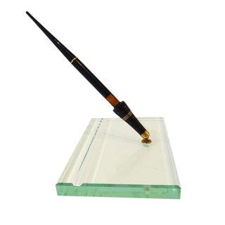 Crystal Pen Set by Fontana Arte, Italy circa 1960's