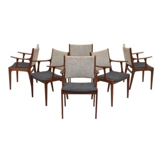 Dining Chairs by Johannes Andersen- Set of 6