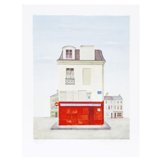 Mary Faulconer -Restaurant Au Vieux Paris Litho