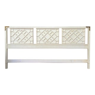Thomasville Faux Bamboo King Headboard