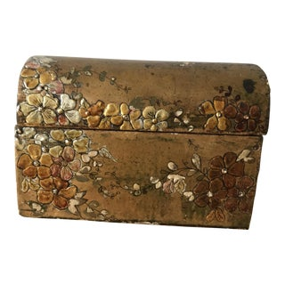 Chinoiserie Gilt or Gold Leaf Decorative Box