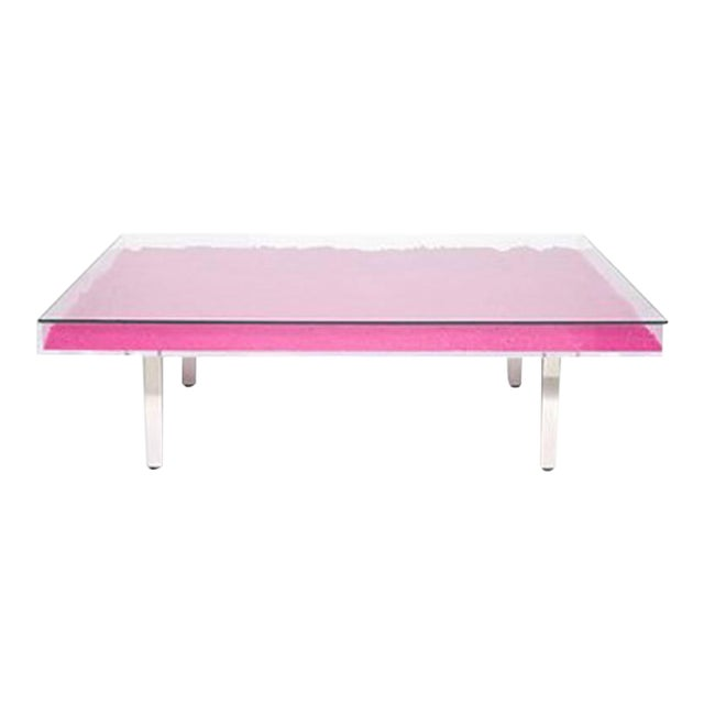 Yves Klein Rose Table - Image 1 of 3