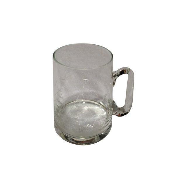 Vintage Glass Mug 45