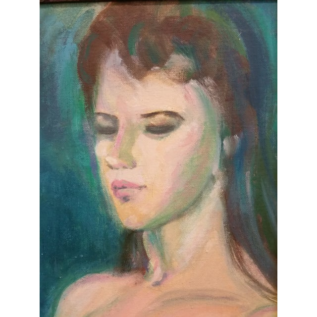 Nude Study Oil Painting - Image 4 of 8