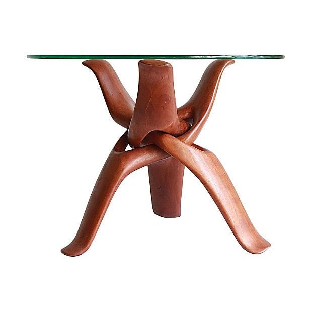 Image of Mid-Century Puzzle Table