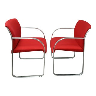 Chrome Chairs - A Pair