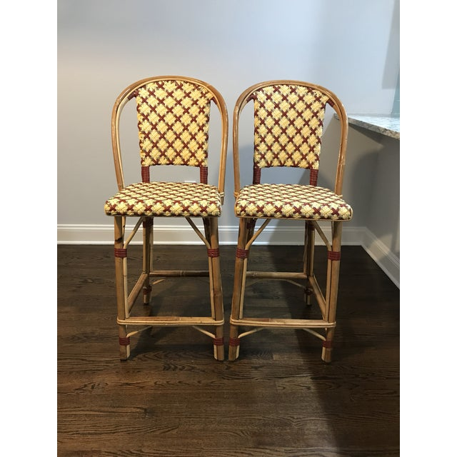 Maison Drucker French Bistro Bar Stools - A Pair - Image 5 of 7