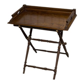 Vintage Wooden Serving Table