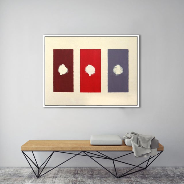 """""""Red Domino"""" Fine Art Giclée Print - Image 3 of 3"""