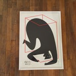 "Image of Polish Design Print - ""Man in a Box"""