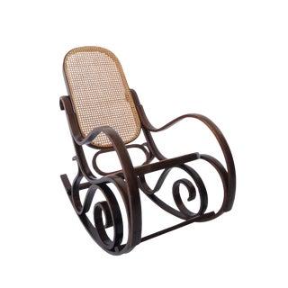 Vintage Mid Century Thonet Bentwood Rocking Chair