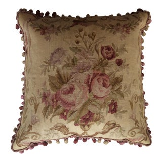 Floral Aubusson Pillow