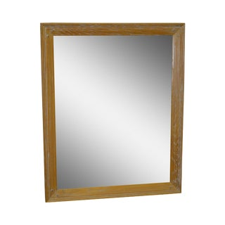 Brandt Ranch Oak Rustic Rectangular Wall Mirror