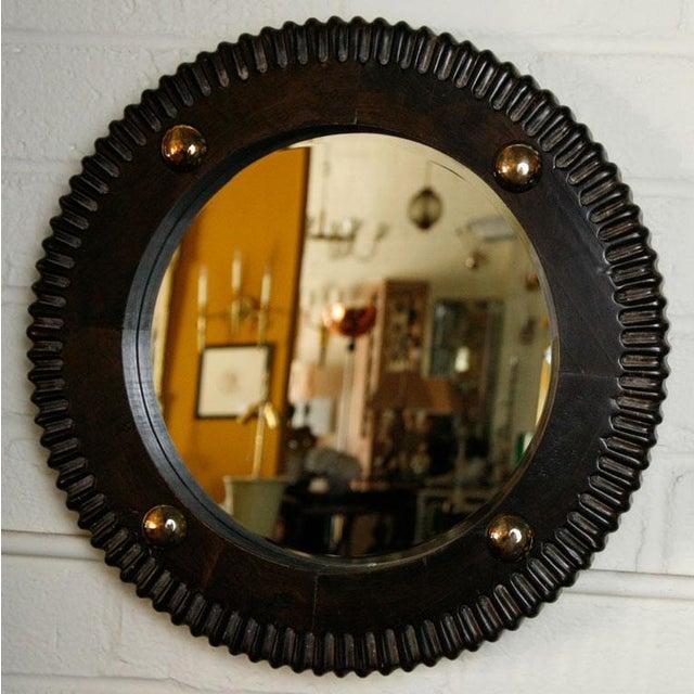 Paul Marra Gear Style Mirror - Image 7 of 8