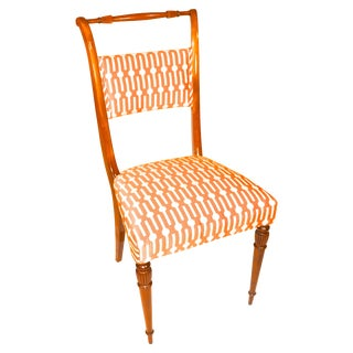 Exceptional English Regency Dining Chairs - S/4