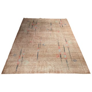 Distressed Zaki Muran Turkish Rug - 6′10″ × 9′10″