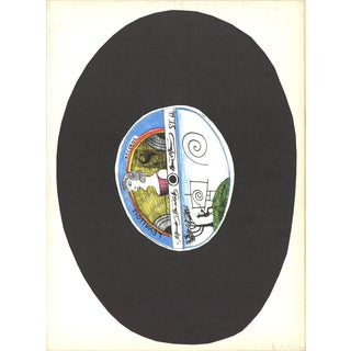Saul Steinberg, Dlm No. 157 Cover, 1966 Lithograph