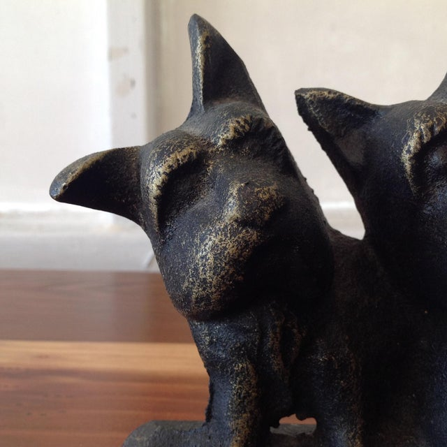 Cast Iron Dog Door Stop - Image 7 of 7