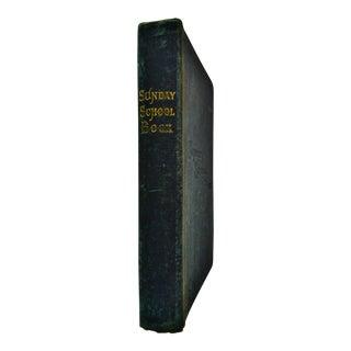1896 Sunday School Book