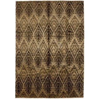 "Gabbeh, Hand Knotted Area Rug - 6' 10"" x 9' 9"""