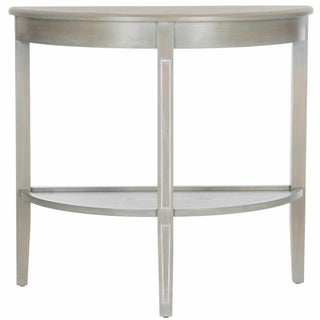 Demilune Console Table - Grey