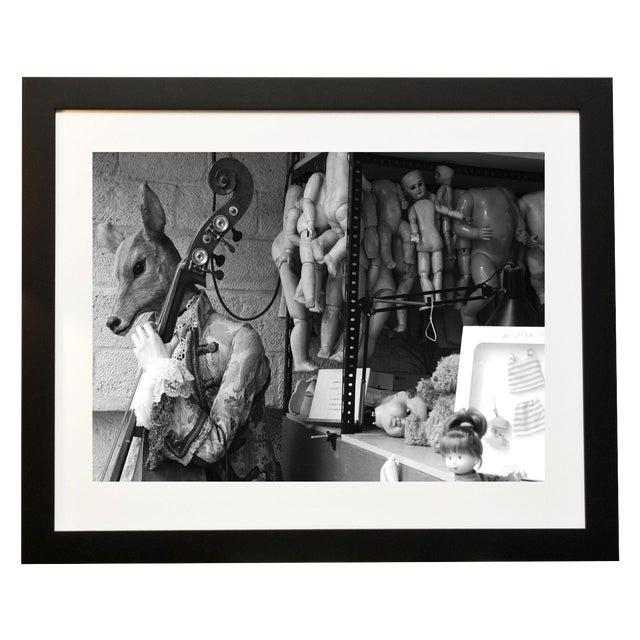 Image of Framed Original Photograph: Dolls
