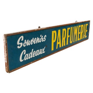 Vintage French Parfumerie Sign